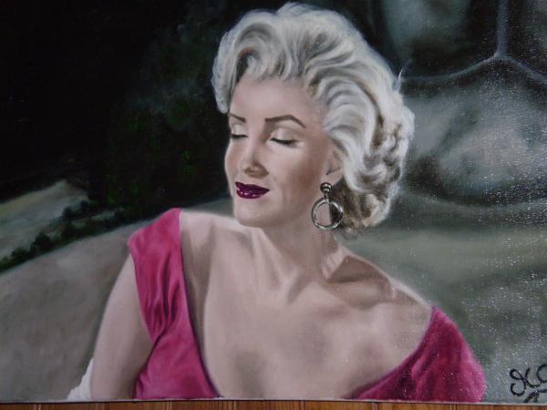 Marilyn Monroe by magalid